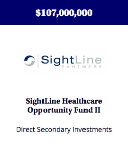 A fund created to make direct secondary investments in late-stage, revenue generating medical device companies.