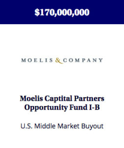 A fund created to make buyout and growth equity investments in middle market companies, primarily in North America.