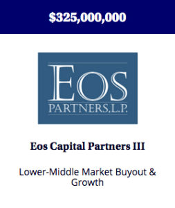 Buyout and growth fund providing capital to lower-middle market companies at an inflection point in their development.