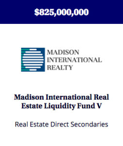 A secondaries fund providing liquidity to investors in existing real estate partnerships.